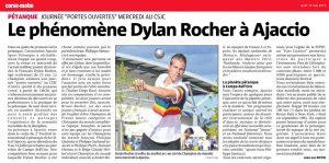 Le phénomène Dylan Rocher à Ajaccio