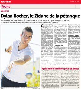 Dylan Rocher, le Zidane de la pétanque