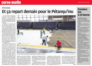Et ça repart demain pour le Petanqu'inu