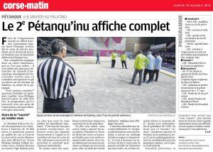 Le 2ème Petanqu'inu affiche complet